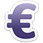 euro currency sign-64